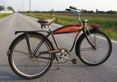 The Schwinn enthusiast site with a growing gallery of vintage Schwinn Bicycles and seller of restoration paints and decals for your vintage Schwinn bicycle. Old Bicycle, Cruiser Bicycle, Old Bikes, Real Steel, Vintage Bicycles, Hornet, Free Spirit, 3, Creative