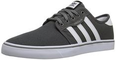 Shop a great selection of adidas Men's Seeley Skate Shoe. Find new offer and Similar products for adidas Men's Seeley Skate Shoe. Sneakers Mode, Casual Sneakers, Casual Shoes, Grey Sneakers, Men Casual, Adidas Fashion, Sneakers Fashion, Fashion Shoes, Mens Fashion