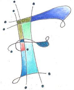 "Letter f.             ""Class 4 - Kersal Monograms"""