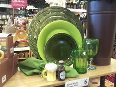 Pier 1 St Patrick's Day Place Setting