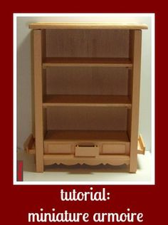 how to: armoire