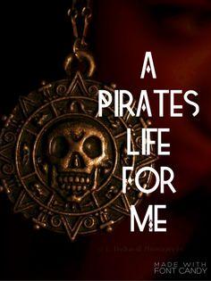 Pirate Art, Pirate Life, Crazy Girl Quotes, Crazy Girls, Johnny Depp, Elizabeth Swann, Swag Quotes, Disney Rides, Captain Jack Sparrow