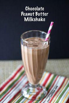 Keto Low carb LCHF Keto peanut butter chocolate milkshake recipe