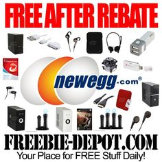 FREE AFTER REBATE - TONS of Items at Newegg.com!