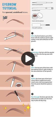 """""""Eyebrow Pencil With Brush"""" - Essential MakeUp Tools – Family Deals - - ausformung bemalung maquillaje makeup shaping maquillage Makeup Tools, Makeup Brushes, Eye Makeup, Makeup Ideas, Makeup Inspo, Prom Makeup, Makeup Inspiration, Makeup Geek, Makeup For Eyebrows"""