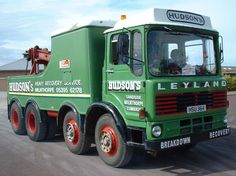 LEYLAND - Hudson's of England Vintage Trucks, Old Trucks, Rescue Vehicles, Camping Gifts, Tow Truck, Commercial Vehicle, Classic Trucks, Bison, Food Videos