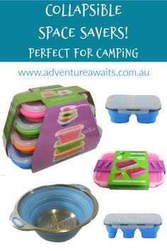 When you are caravanning & camping - SPACE is everything...we have added a few of our favourites to our shop... Camping Must Haves, Adventure Awaits, Travel Accessories, Caravan, Space Saving, Big, Shopping, Motorhome