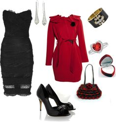 """Valentines Date"" by sageflower on Polyvore"