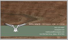 Business Card: Progress: Chosen Creative Direction (Back)
