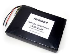 Image of AT: Tenergy 14.8V 20Ah Heavy Duty LIPO Battery Pack w/ PCB Protection (DGR-A)