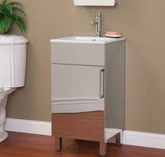 9 Scaled-Down Vanities That Are Perfect for Small Bathrooms