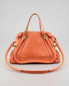 Paraty Medium Shoulder Bag, Suntan by Chloe at Neiman Marcus.