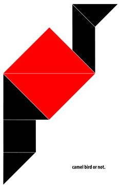 Tangram. Illustrator. 17/28toMake Make Your Mark, Old And New, Playground, Illustrator, Students, How To Get, Graphic Design, Creative, Children Playground