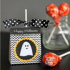 Free Printable Lollipop Holder