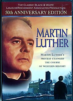 "DVD-Martin Luther - Northwestern Publishing House - This black and white film is the original film classic of Luther's life that was released in theaters world-wide and nominated for two Academy Awards. The film traces his life from a guilt-burdened monk through the monumental events that led to a break with the Roman Church. Included as a special extra is ""Biography of a Film,"" the amazing behind-the-scenes 50-year story with Robert E.A. Lee, former executive of Lutheran Film Associates."