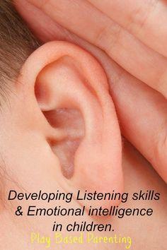develop listening skills with emotional intelligence childrens game