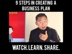 NEGOSYOS TIPS: 9 STEPS IN CREATING A BUSINESS PLAN Creating A Business Plan, Business Planning, Pinoy, Online Courses, How To Plan, Learning, Create, Tips, Shop Plans