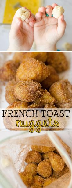 Kids Meals French Toast Nuggets are a fun and easy lunch idea that kids can make themselves. Dipped in egg, fried crispy brown and dusted with sugar and cinnamon, this finger-food version of French Toast is a lunch-time favourite for kids of all ages. Lunch Ideas Kids At Home, Easy Meals For Kids, Kids Meals, Recipes Kids Can Make, Food For Lunch, Kids Cooking Recipes Easy, Easy Lunches To Make, Kids Meal Ideas, Simple Lunch Ideas