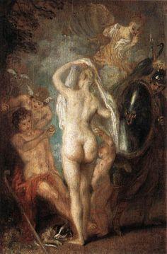 Antoine Watteau #Rococo #French #Baroque