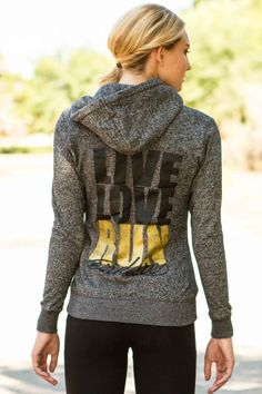 Live Love Run Endure Running Hoodie