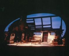 Playboy of the Western World. Seattle Repertory Theatre. Scenic design by Marjorie Bradley Kellogg.