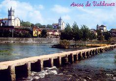 Arcos de Valdevez - Um Aspecto Parcial da Vila