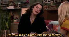 2 Broke Girls / Two Broke Girls / / TBG - Max Black - quote - screencap - gif 2 Broke Girls, Im Broke, Max Black, Bff, Besties, Tv Show Quotes, Movie Quotes, Black Quote, Broken Girl Quotes