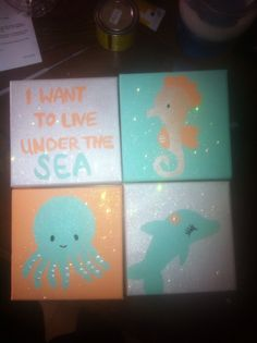 For a mermaid baby shower