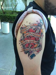 fe265d2d0 This Doctor Who Tattoo Is Never Cruel Or Cowardly Doctor Who Tattoos,  Traditional Tattoo,
