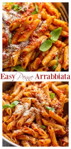 Penne Arrabiata is saucy, spicy, and so easy! Ready in about 30 minutes! Recipes pizza Penne Arrabbiata - An easy recipe for Penne Arrabbiata! Penne Pasta Recipes, Spicy Pasta, Italian Pasta Recipes, Penne Arabiata Recipe, Pasta Recipes For Two, Italian Pasta Dishes, Easy Pasta Dishes, Recipes Dinner, Fun Easy Recipes