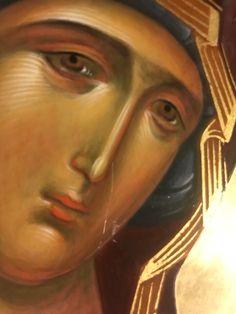 Santa Maria, Paint Icon, Blessed Mother Mary, Byzantine Art, Orthodox Christianity, Madonna And Child, Orthodox Icons, Sacred Art, Religious Art