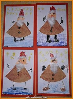 Nikolaus-Special: last minute gifts & craft ideas for .- Nikolaus-Special: Last minute gifts & craft ideas for kids style-pray - Christmas Art, Christmas Decorations, Homemade Christmas, Christmas Ideas, Kids Fashion Blog, Child Fashion, Diy Fashion, Crafts For Kids, Diy Crafts