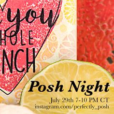 Who is ready for #poshnight?! tune in with me on posh night for new product release! Here is a sneak peak on whats to come! https://amandalowe.po.sh  #beauty #pefectlyposh #pamper #party #consultant #allnatural #crueltyfree #lime #loveyou #chunk #essentialoils #soap #body #loveyourself #inspiring