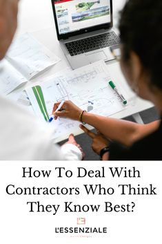 How To Deal With Contractors Who Think They Know Best? Interior Design Books, Interior Design Business, Interior Design Inspiration, Book Design, Business Checks, Business Tips, Team Player, Technical Drawing, Understanding Yourself