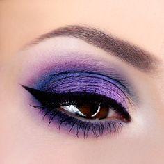 Makeup Geek Foiled Eyeshadow in Caitlin Rose. Look by: kleopatre