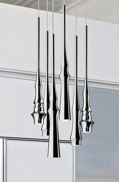 Slend Suspension Lights By Christophe Mathieu for Bover-Lumens