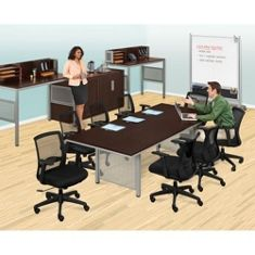 National Business Furniture - Shop The Look - At Work Conference Set