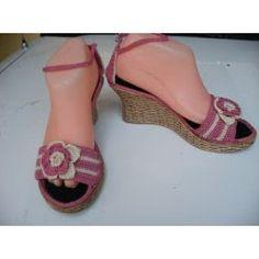 Ideas en Crochet: Sandalias y Zapatillas
