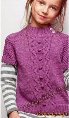 Poncho Knitting Patterns, Knit Patterns, Knitted Baby Cardigan, Knitting For Kids, Baby Sweaters, Kids Wear, Kids And Parenting, Knit Crochet, Kids Fashion