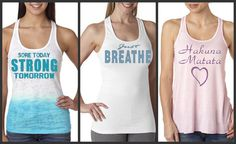 Bundle of 3 Running and Training Racer Back Work by AmarisCloset, $82.50