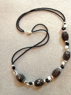 Black and White and Cracked all over by DevonMade on Etsy, $67.50