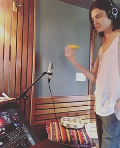 Børns in the recording studio in Nicaragua @tommyenglish ig