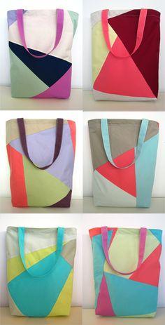 Pretty, simple bags