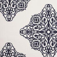 Indigo Light-Weight Printed Cotton Woven