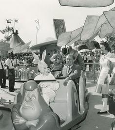 "Walt Disney, on Disneyland's ""Alice in Wonderland"" ride"