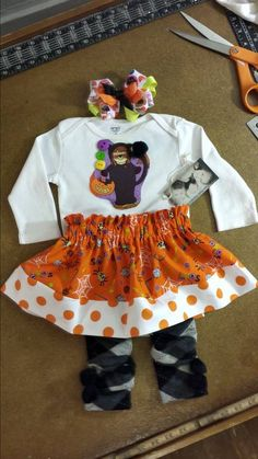 It's a Party Dress for HalloweenAdorable Skirt by MYSWEETCHICKAPEA, $58.00