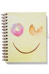 a5 collegiate notebook, SMILEY