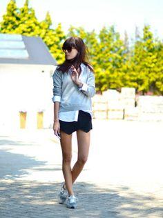 New Balance grises, frescas para el verano.  #moda #zapatillas #rebajas
