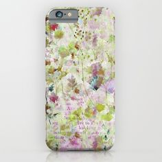 Protect your iPhone with a one-piece, impact resistant, flexible plastic hard case featuring an extremely slim profile. Simply snap the case onto your iPhone for solid protection and direct access to all device features. #des fleurs et des mots