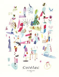 La Belle Illustration: Brecht Evens pour Cotélac, 2012-2013
